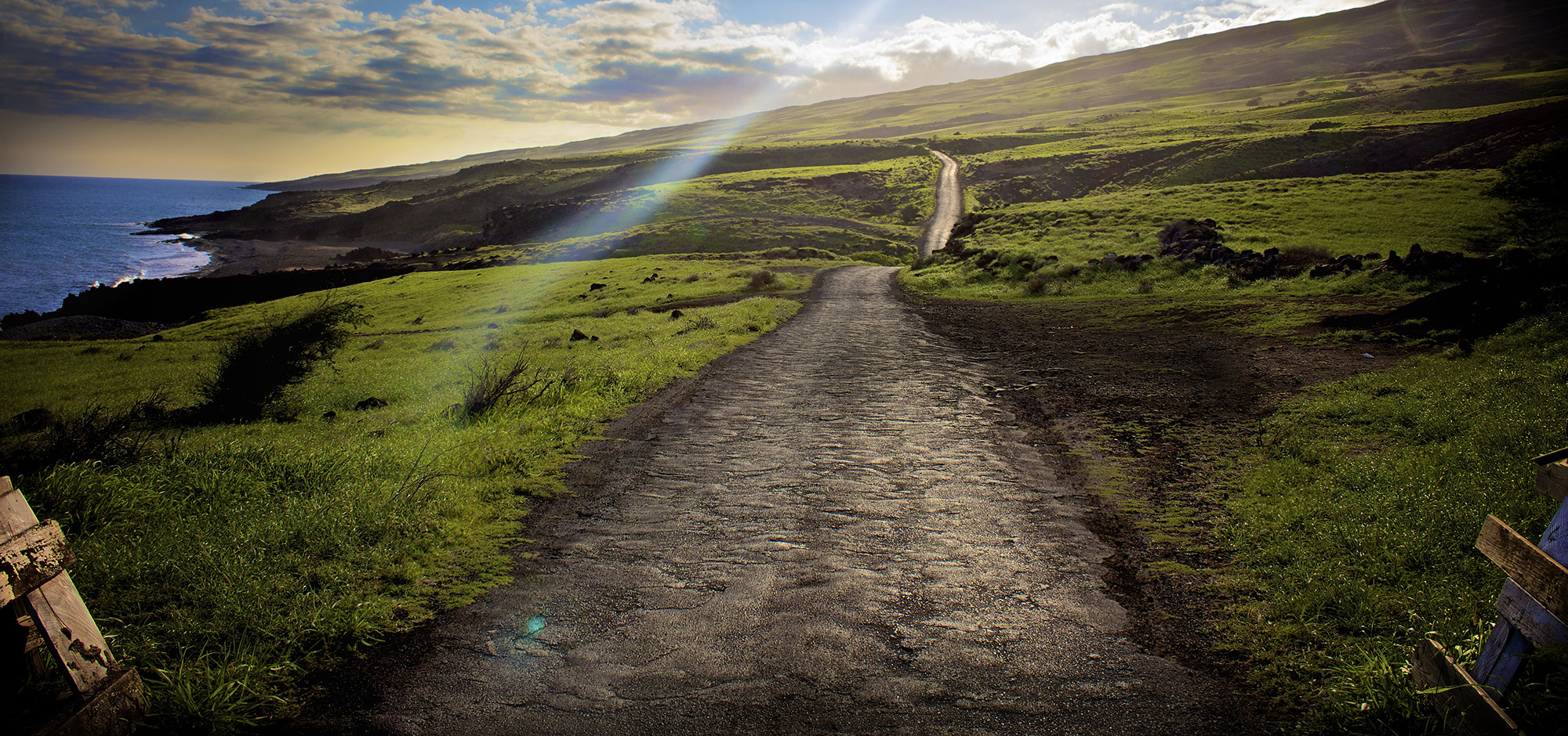 Take the Hard Road