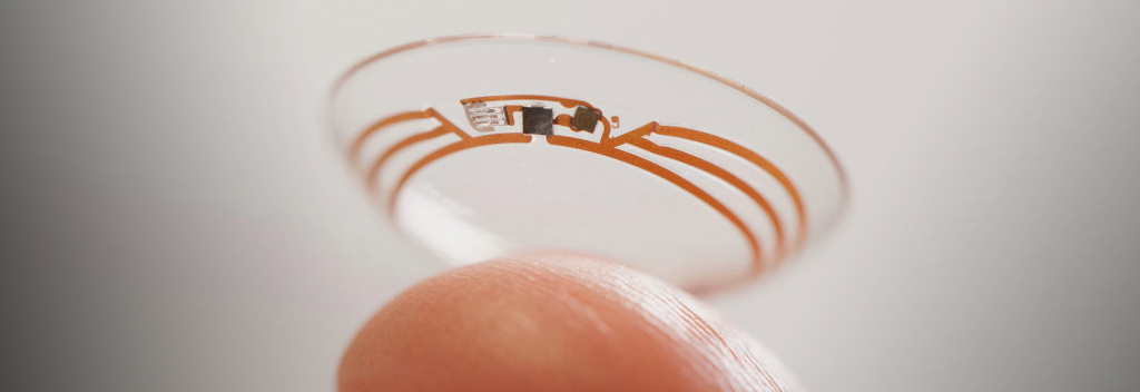Google's Camera Embeded Contact Lenses